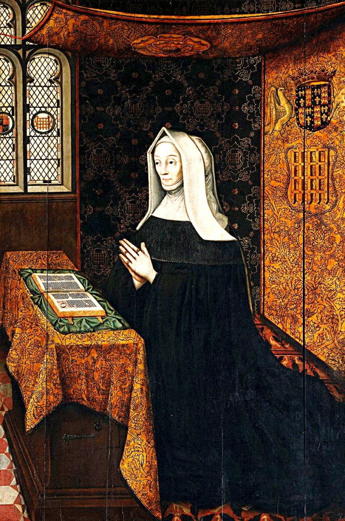 Margaret Beaufort at prayer.