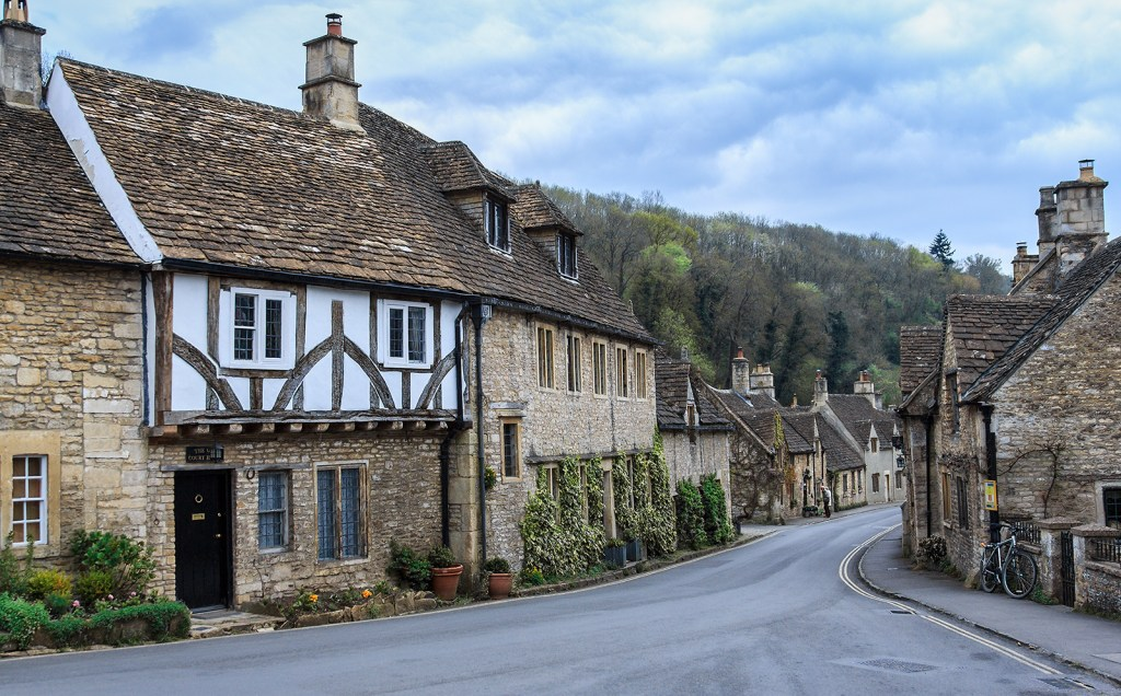 Castle Combe, a typical Cotswold village