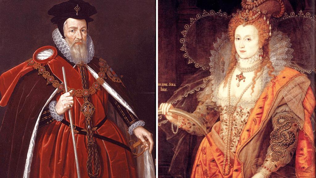 William Cecil and Elizabeth I