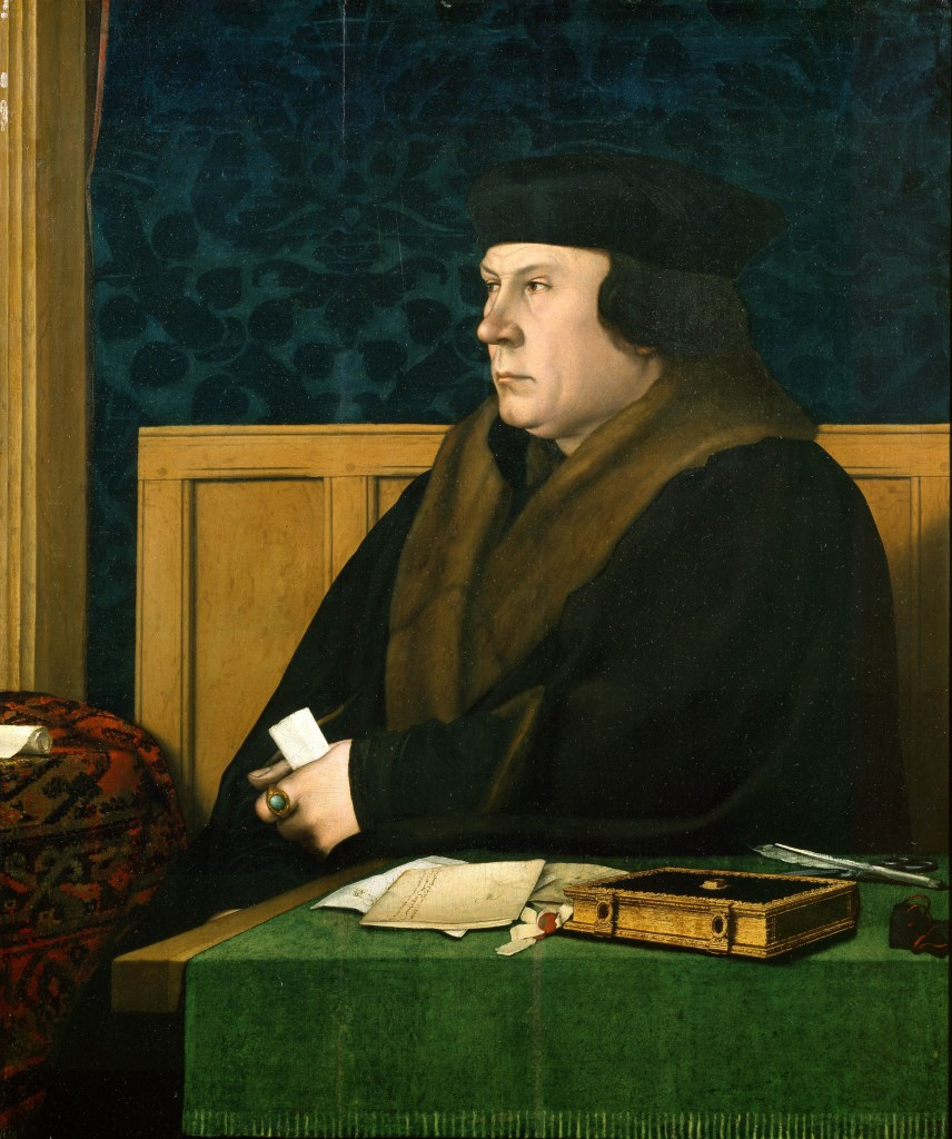 An oil painting of Thomas Cromwell
