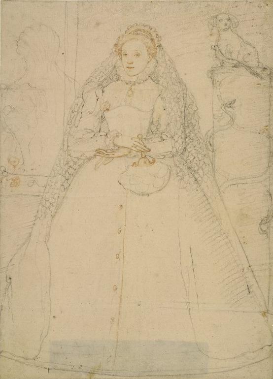 A portrait of Elizabeth I by F. Zuccaro