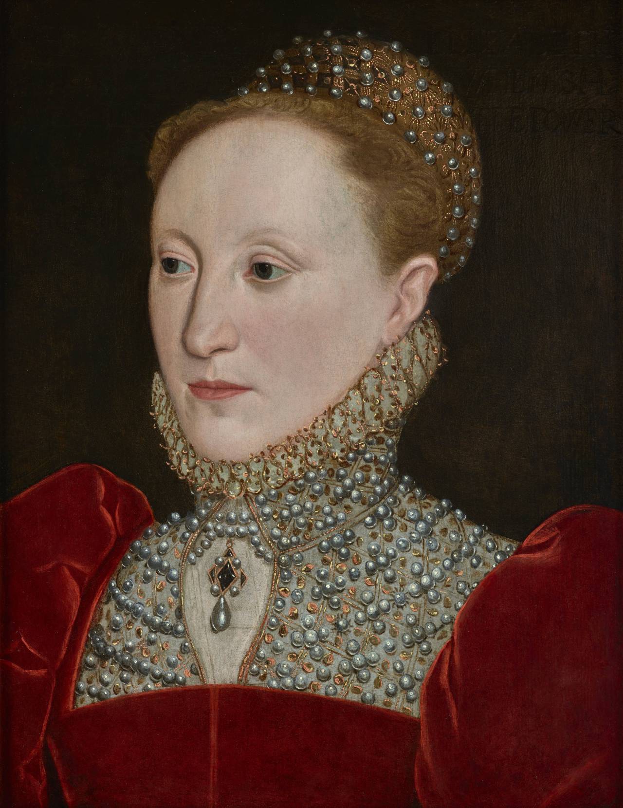 The Human Face of Elizabeth I of England, portrait from the 1560s