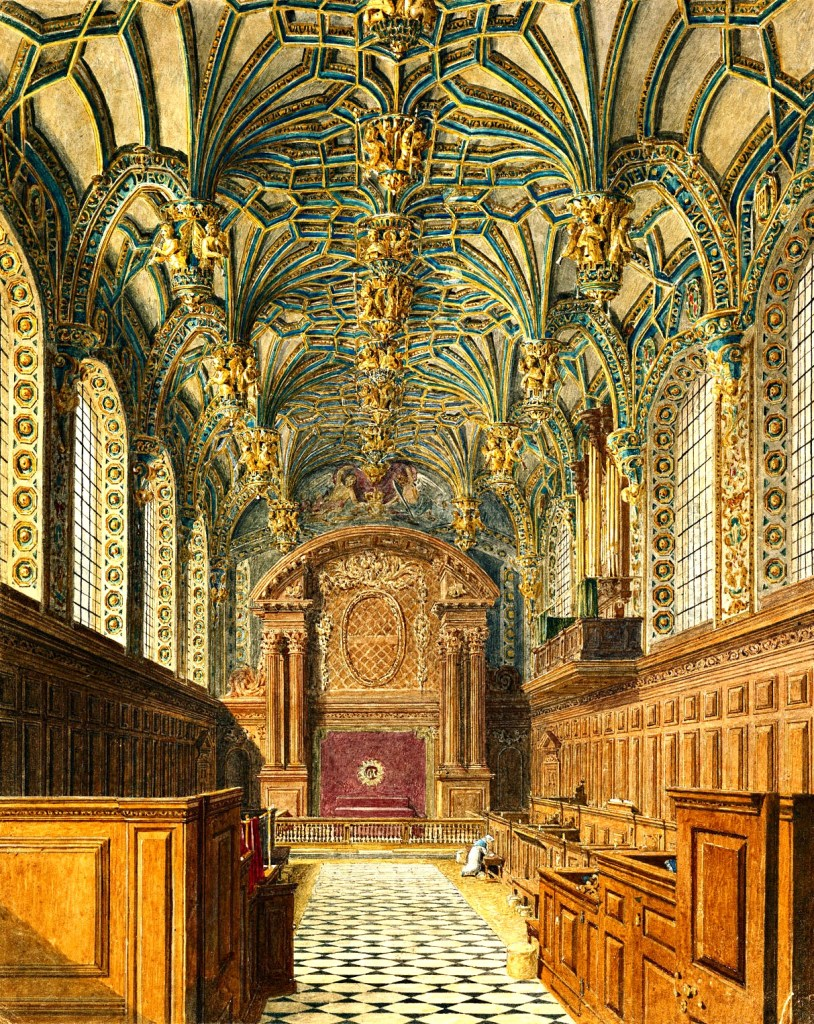 The Chapel Royal at Hampton Court Palace