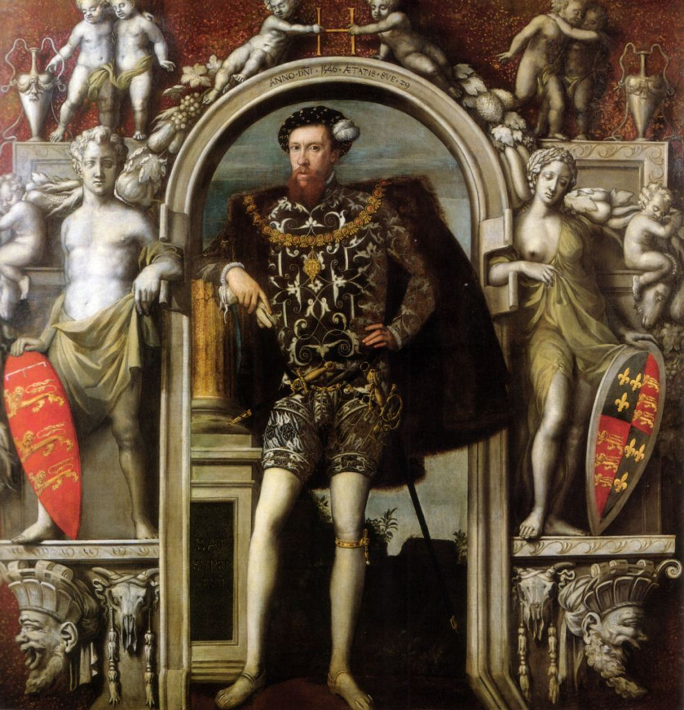 Henry Howard, Earl of Surrey, probably born at Kenninghall