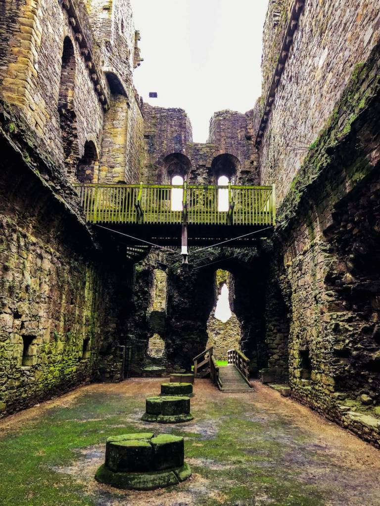 The ruins of Middleham Castle