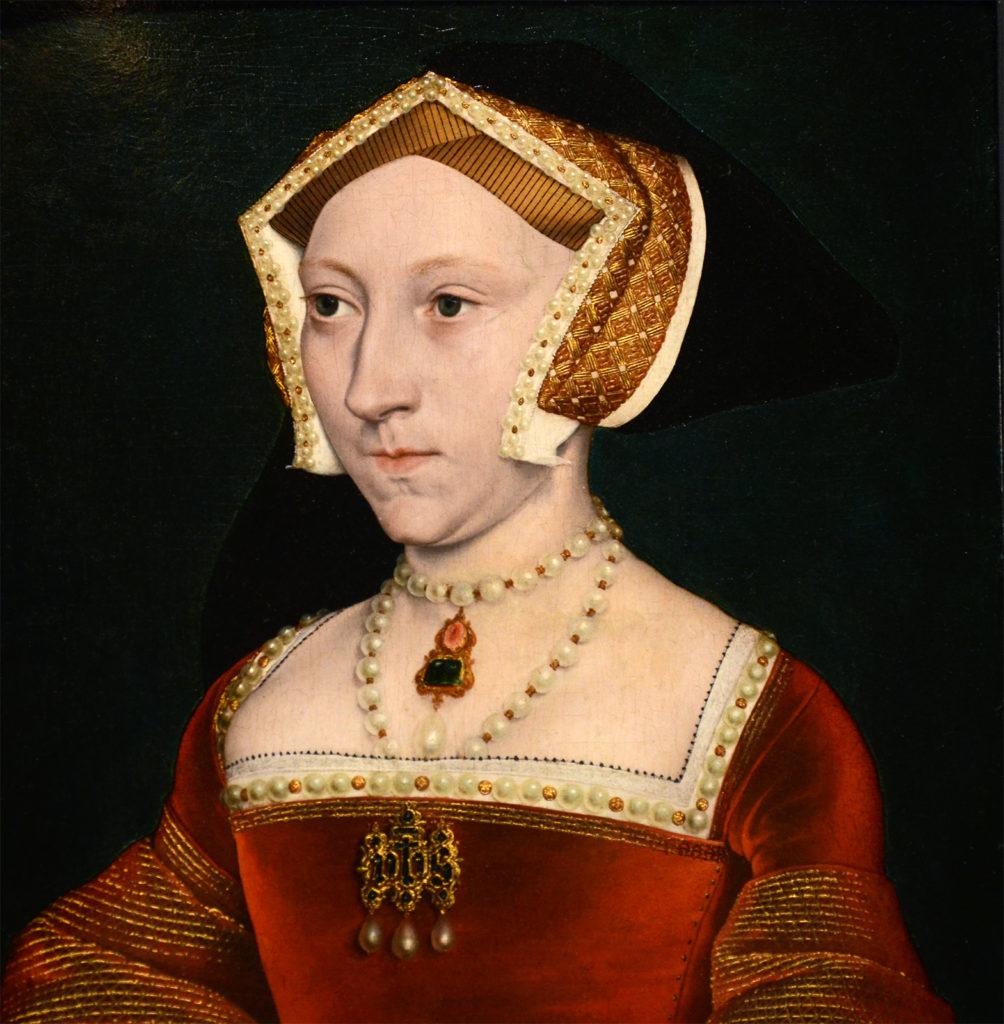 A portrait of Queen Jane Seymour