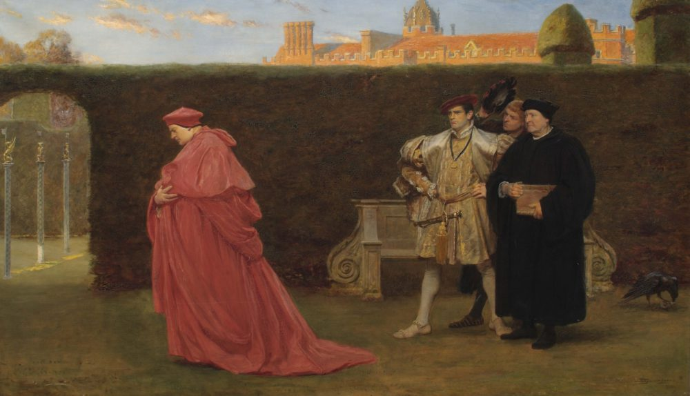 Thomas Wolsey, principal minister of Henry VIII in disgrace