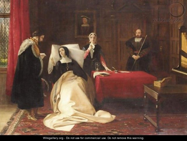 The dying days of Katherine of Aragon