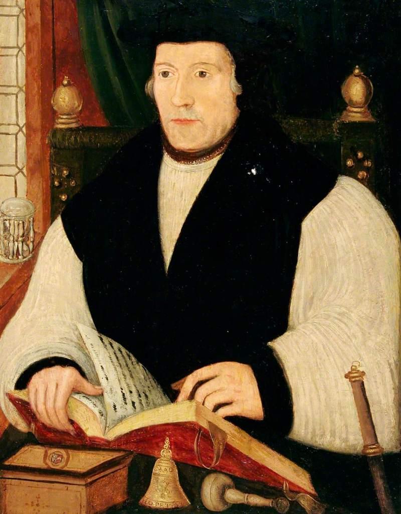 Portrait of Matthew Parker