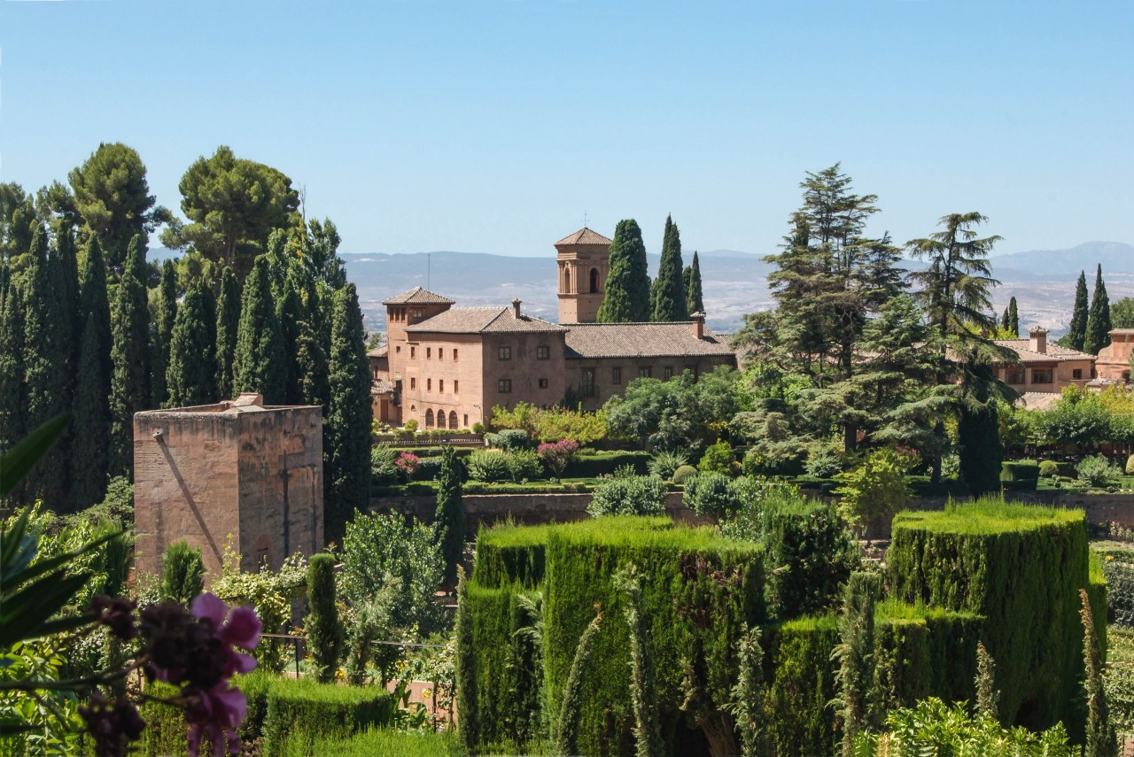 The Alhambra palace, Spain