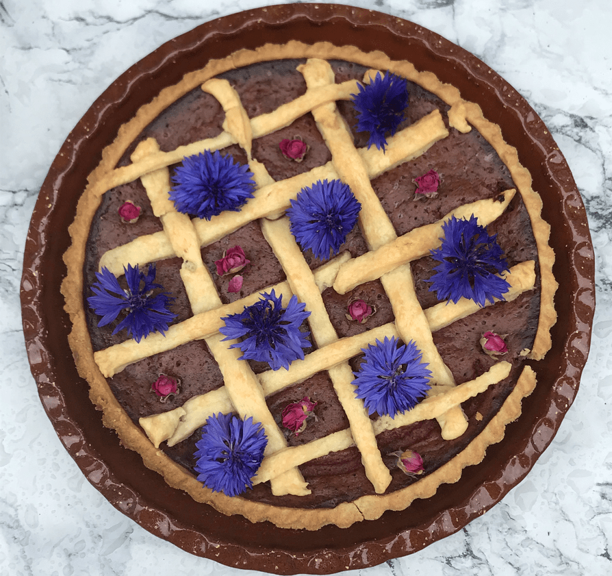Plum Tart: a summer Tudor recipe