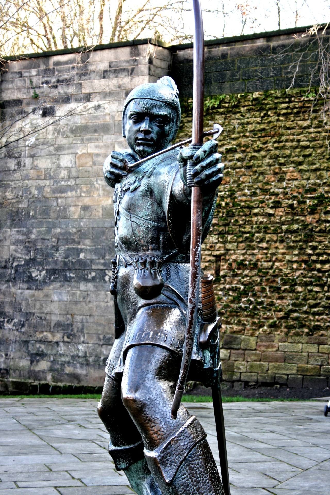 Robin Hood at Nottingham Castle