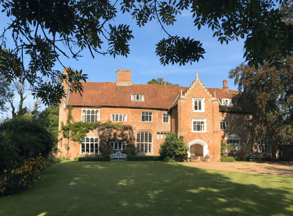 The Old Hall, Norfolk one of the venues for the Tudor Travel Guide's Tudor Events in 2020