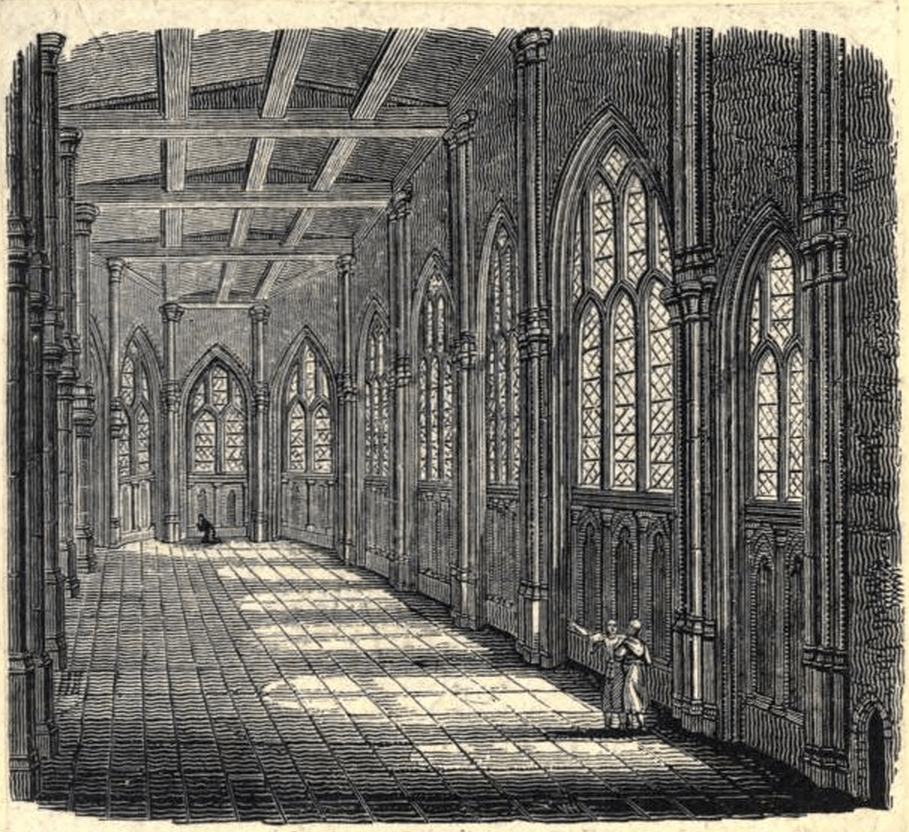 The Upper Chapel of Thomas Becket on Old London Bridge