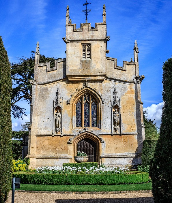 The front of St Marys Church, Sudeley Castle, one of the best Tudor places to visit outside of London