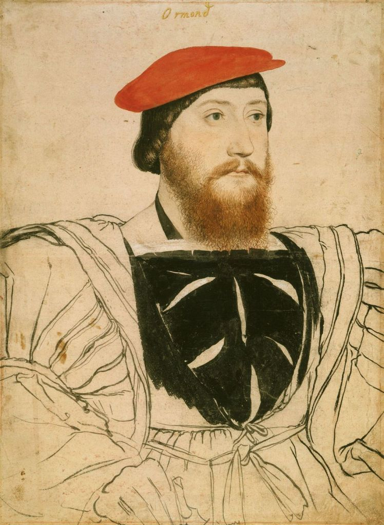 Sketch of a man thought to be Thomas Boleyn