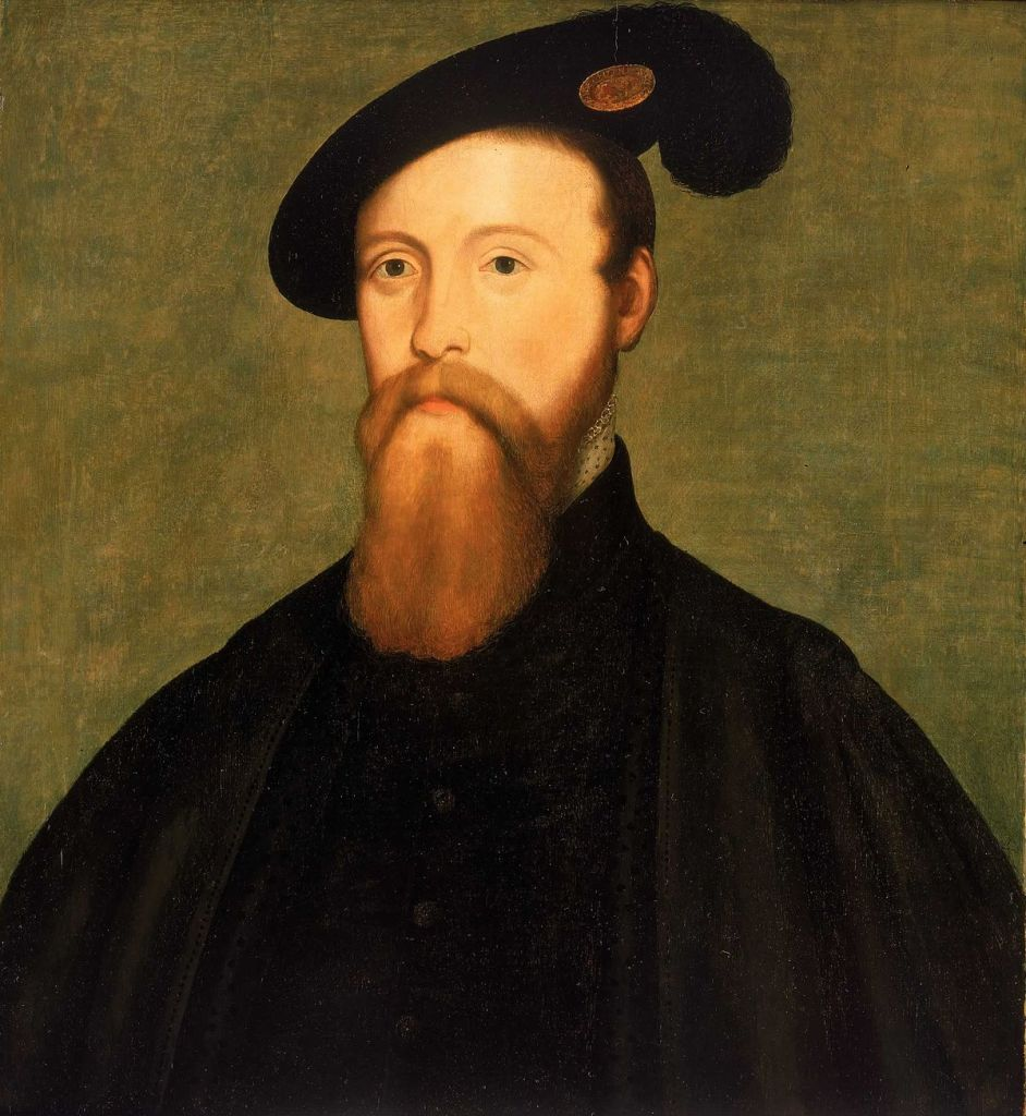 An Oil Painting of Thomas Seymour, proposed second husband of Mary Howard