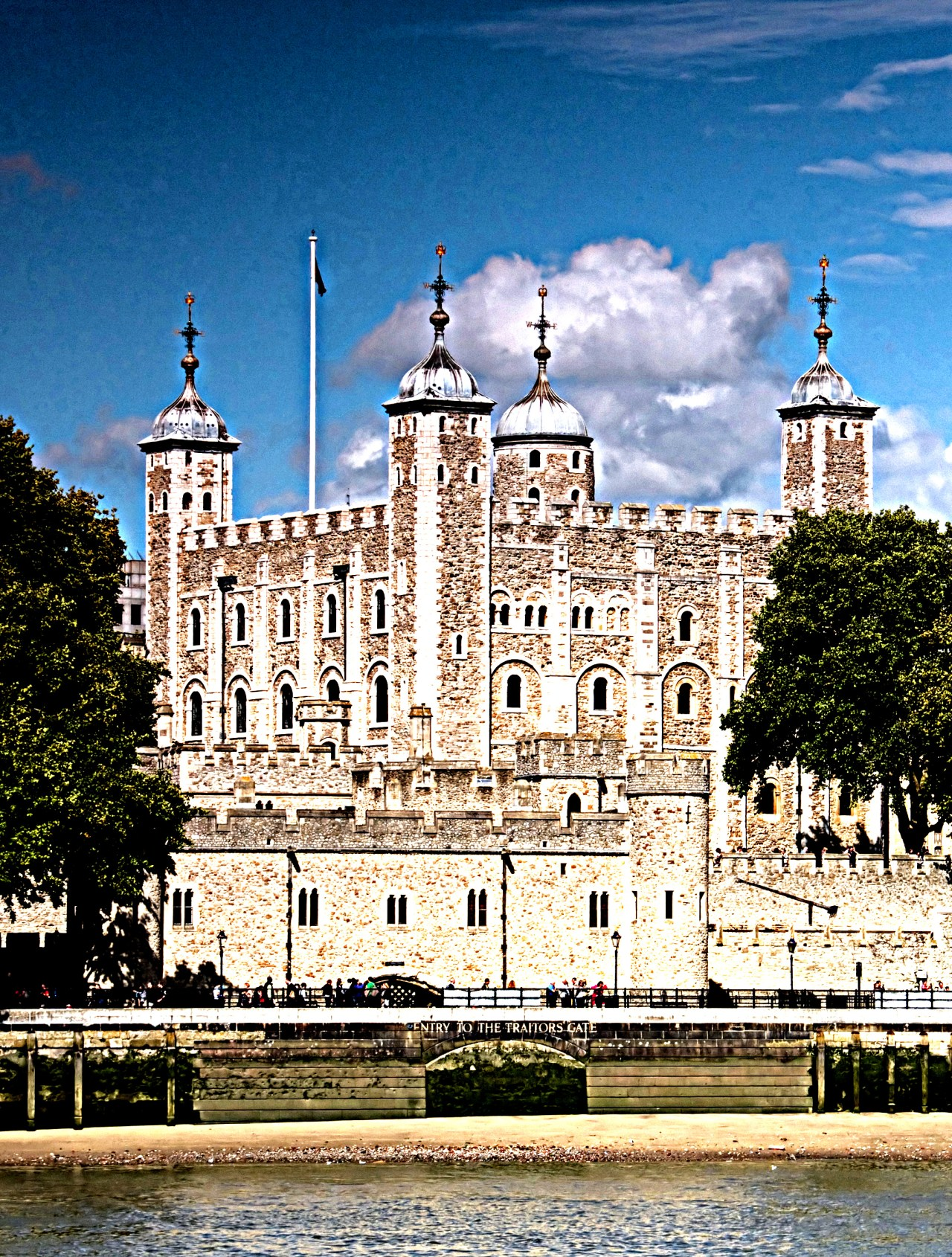 The Tower of London and site of Anne Boleyn's Execution