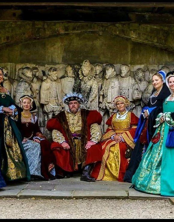 The Tudor Legacies, a living history group of Tudor enthusiasts.