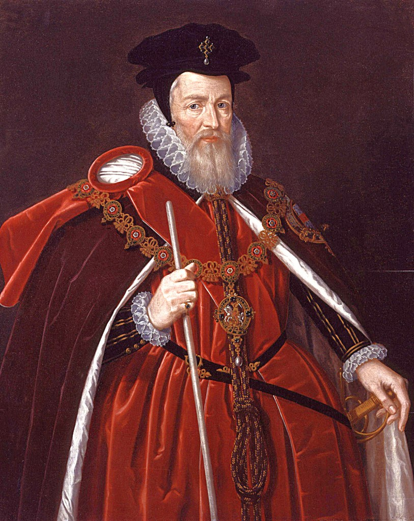 William Cecil, Lord Burghley owner of Theobalds