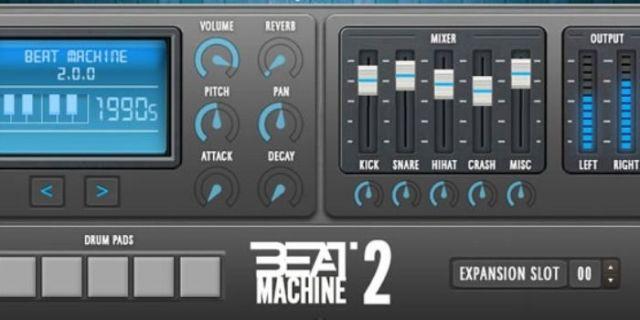 Beat Machine 2 bass engine VST Plugin