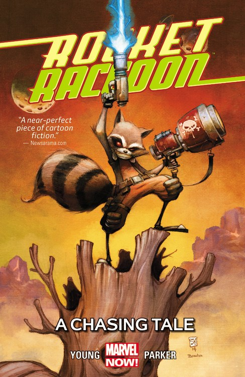 Rocket Raccon Volume 1 A Chasing Tale Marvel Turnaround