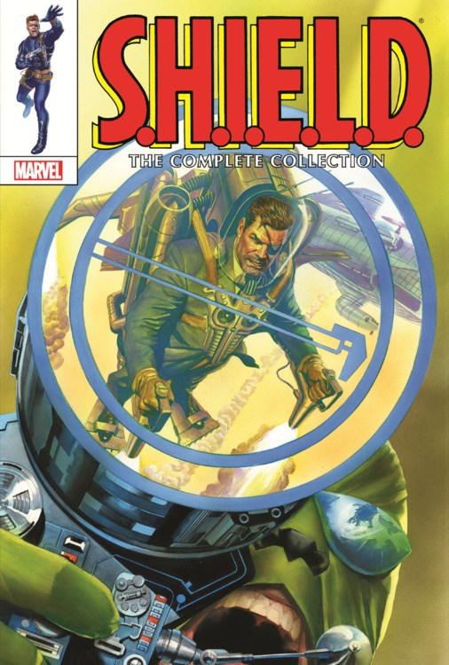 Shield the complete collection omnibus Marvel Turnaround