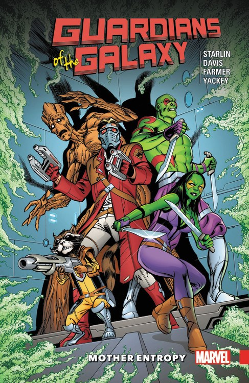 Guardians Of The Galaxy Mother Entropy Classic Guardians Action The Turnaround Blog