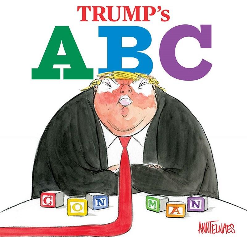 Trump S Abc When Political Satire Meets A Children S Board Book