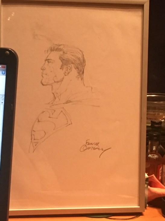 frank quitely sketch