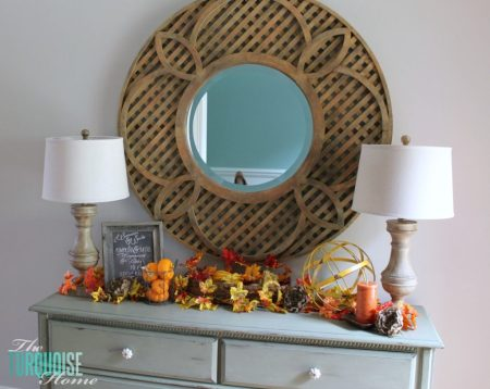 Fall Vignette {The Turqoise Home}
