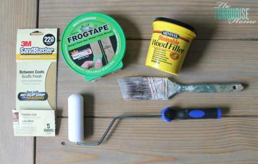 House Painting Supplies Painter S Tape Sand Paper