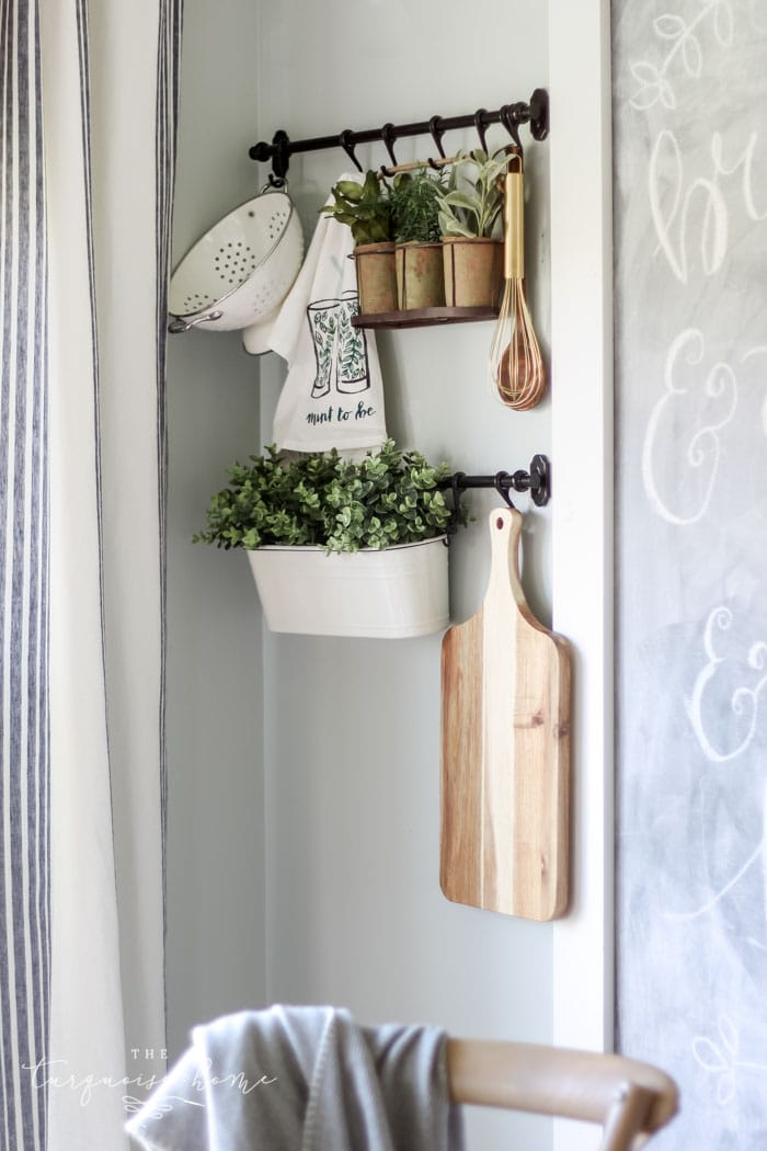 ikea fintorp hanging system in the