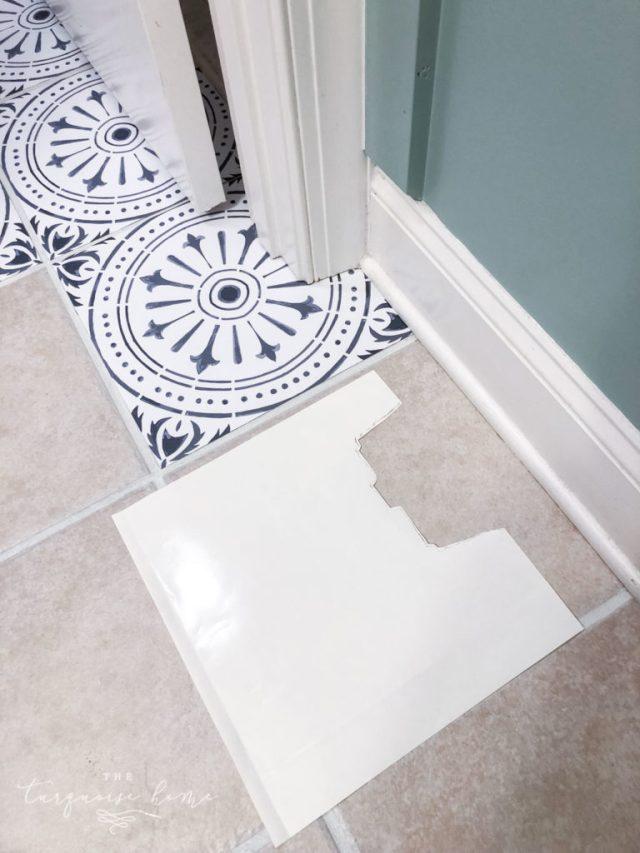 diy peel and stick vinyl tiles 4
