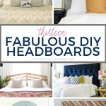 How To Make A Headboard 13 Beautiful Diy Headboard Ideas The Turquoise Home