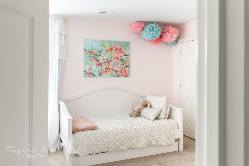 What Size Rug Do I Need for My Bedroom? | The Turquoise Home on Beautiful Room For Girls  id=61349