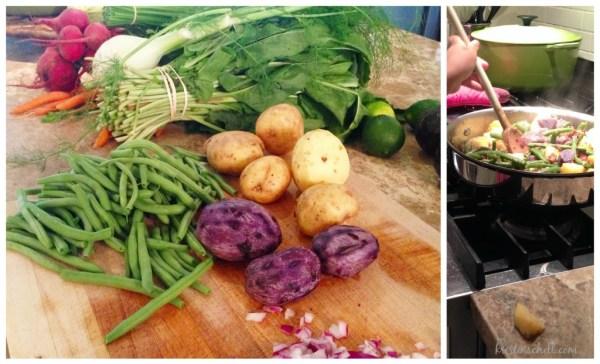 Southern Green Beans & Potatoes | kristinschell.com