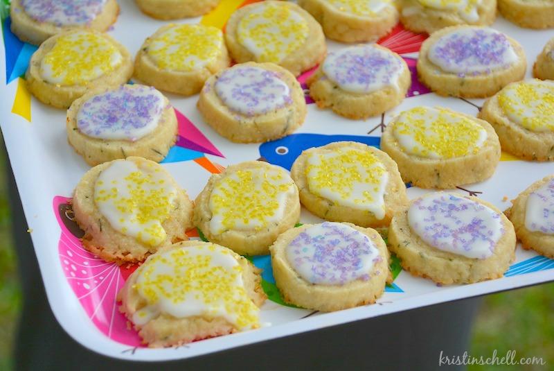 Lemon Rosemary Cookies | kristinschell.com