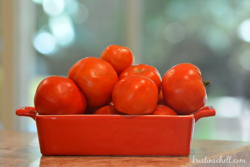 Easy Homemade Tomato Soup | kristinschell.com