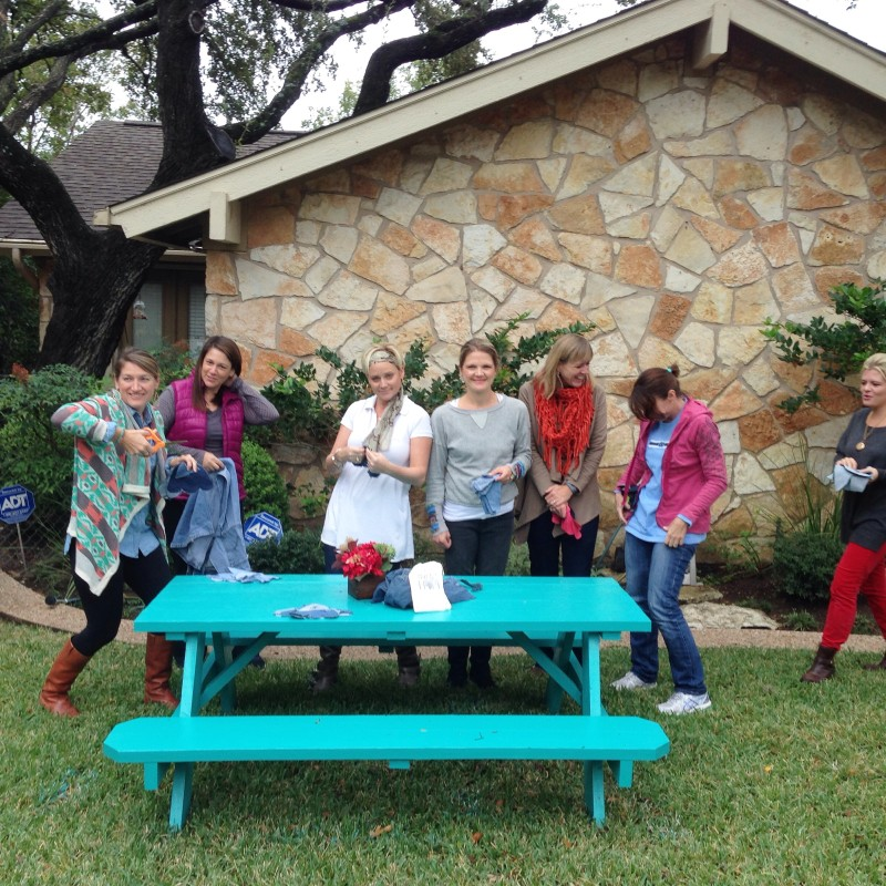Turquoise Table Story: Party with a Purpose | kristinschell.com #FrontYardPeople
