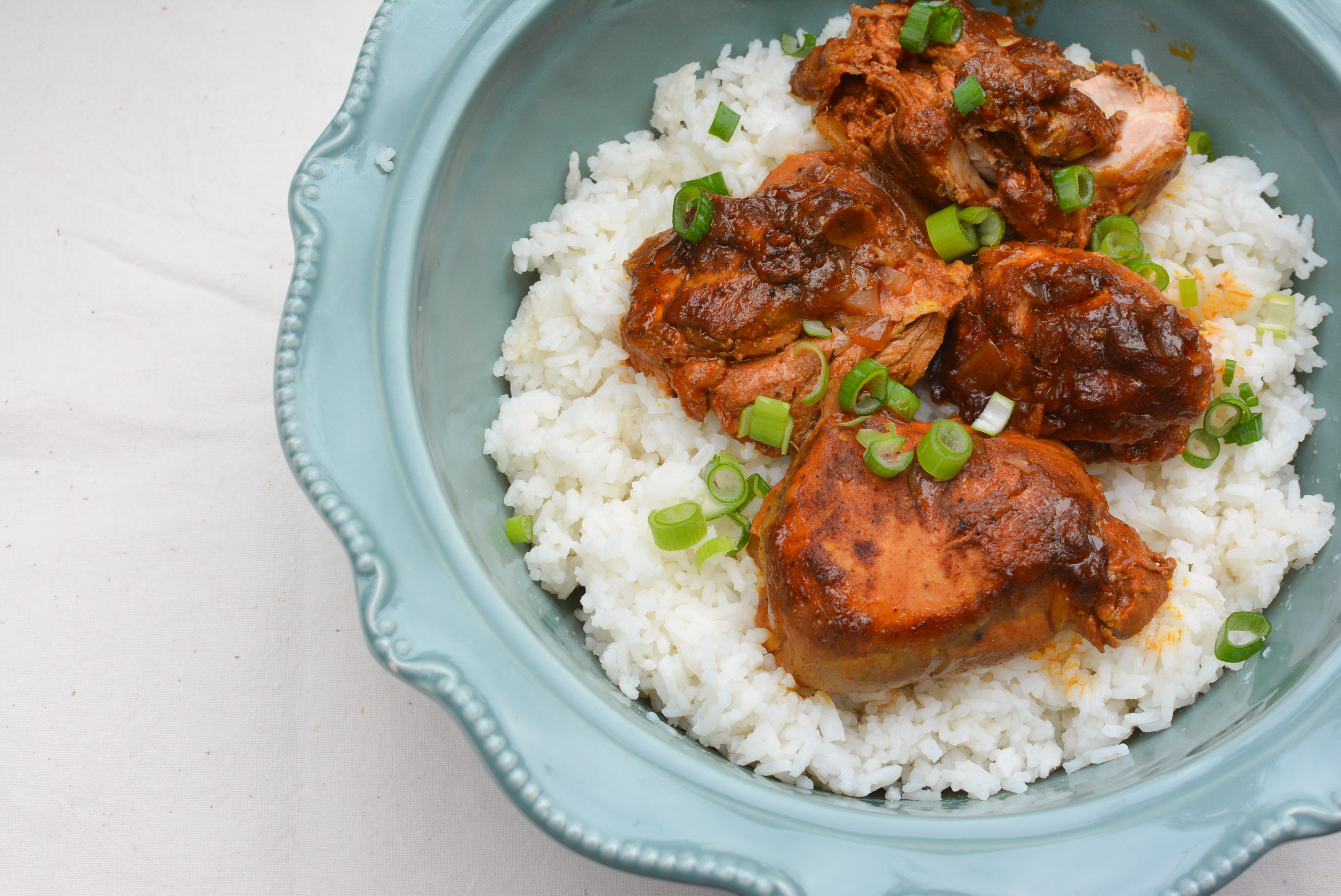 Curry Ginger Chicken | theturquoisetable.com