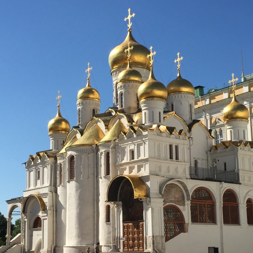 Cathedral of the Annunciation Kremlin,  Moscow | kristinschell.com