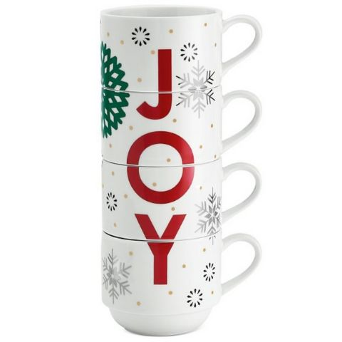 Joy Stackable Coffee Mugs