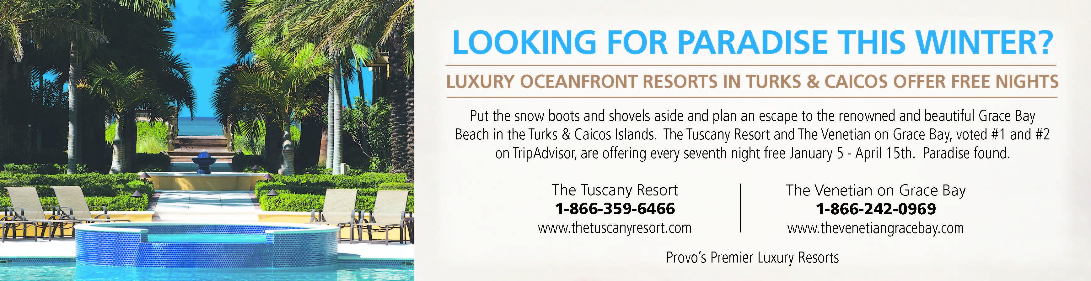 Looking For Paradise This Winter?