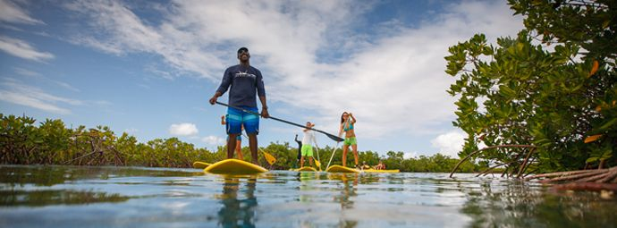Standup Paddle Board Turks Caicos