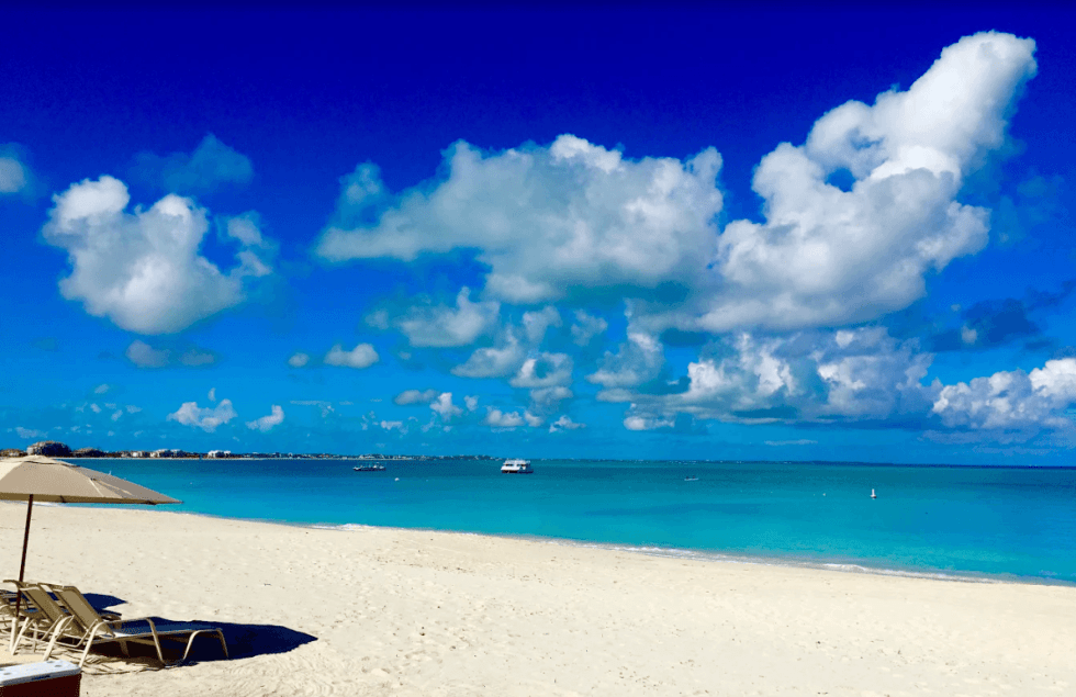 beach in turks and caicos