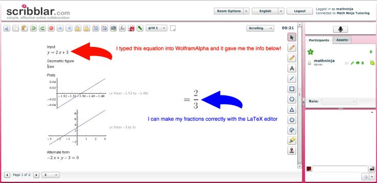 Scribblar LaTeX example image
