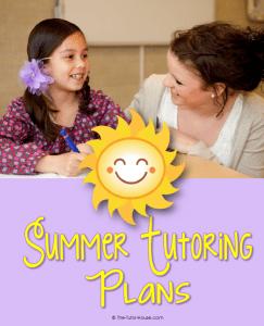 SummerTutoringPlansandPrep
