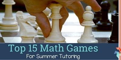 Top 15 Math Games For Summer Tutoring