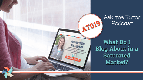 AT019: What Do I Blog About in a Saturated Market?